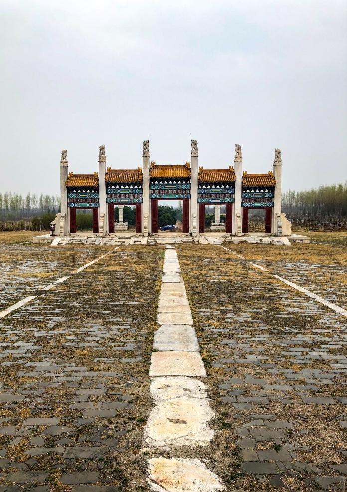 同治皇帝的惠陵